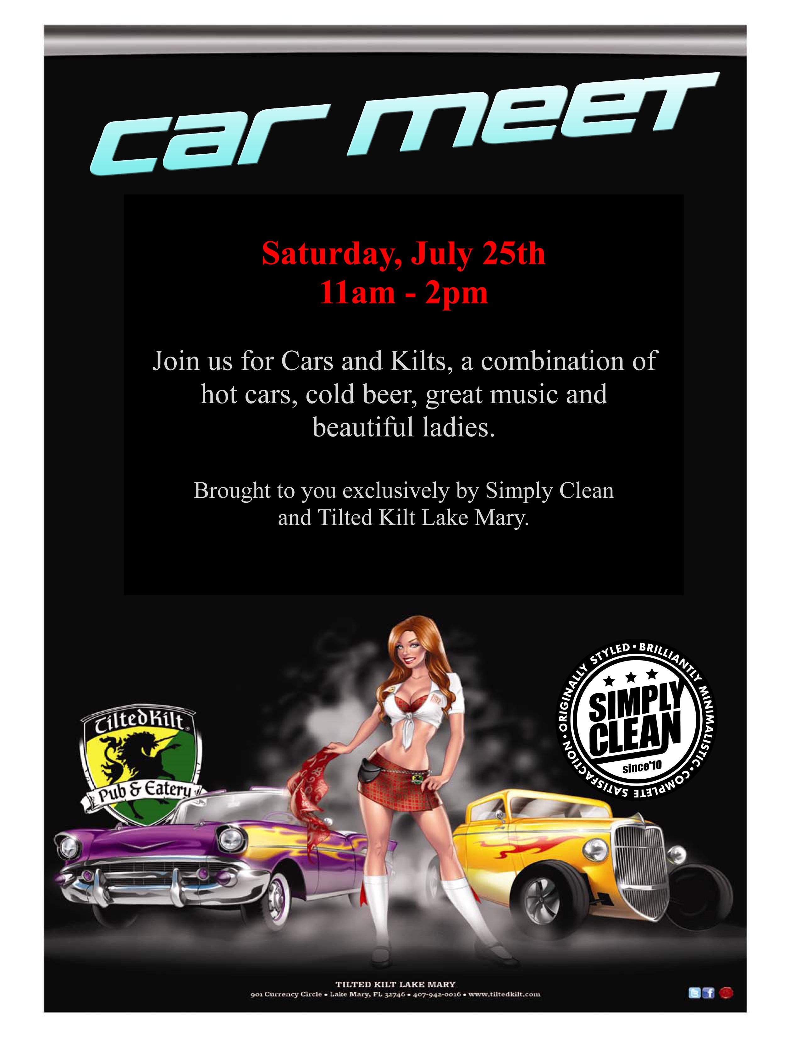 Kilt Car Show.pub