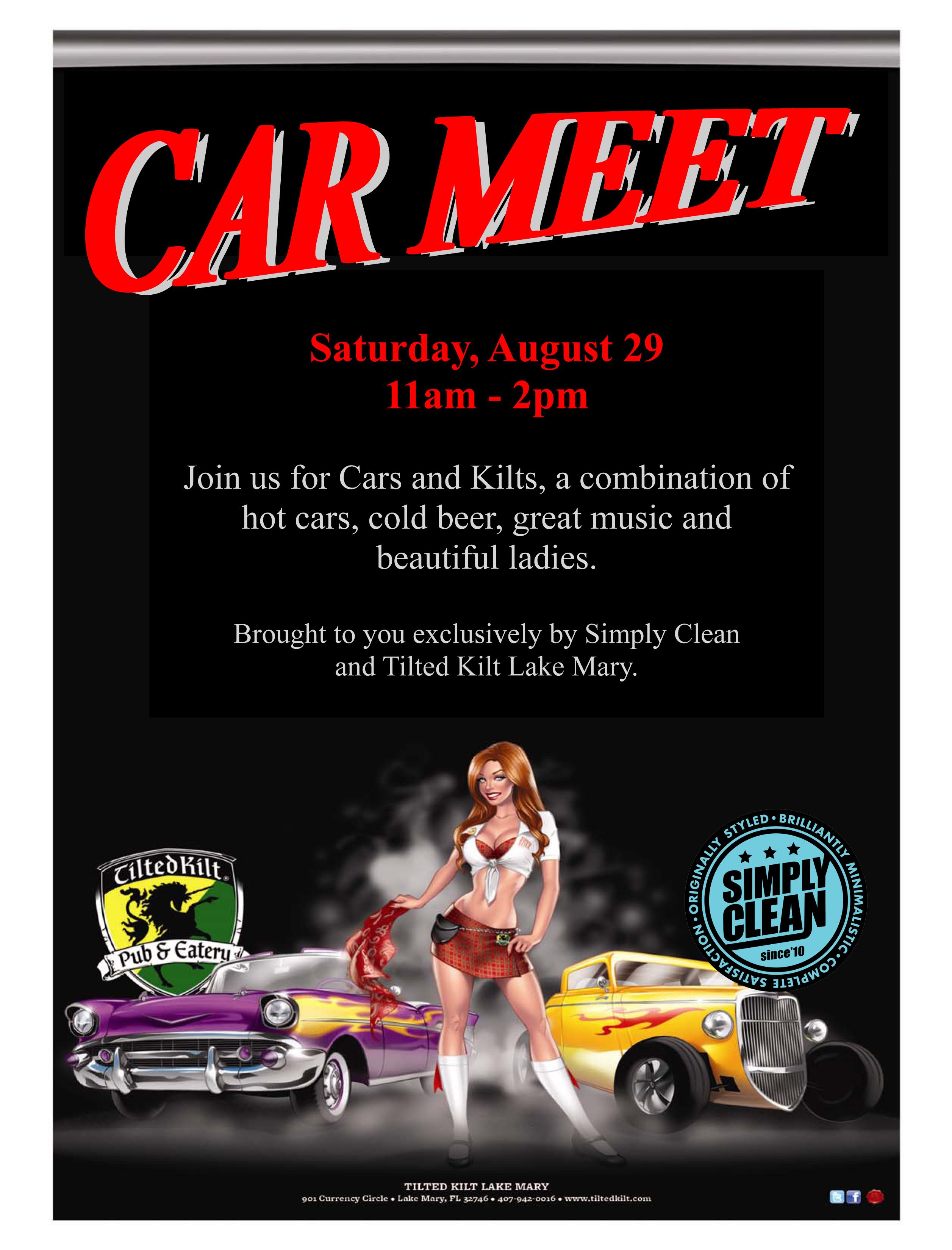 Kilt Car Meet.pub